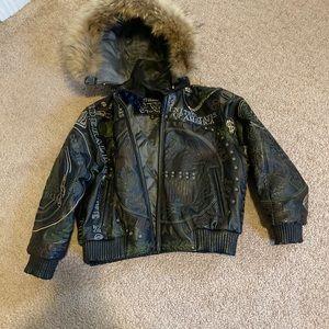 Kids Vilanto Leather Jacket